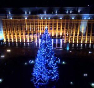 Новорічно–різдвяний Ужгород. Програма святкувань