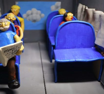 На Закарпатті стартував виборчий мультсеріал з пластиліну