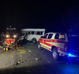 На Хустщині рятувальники деблокували загиблих у дорожньо-транспортній пригоді