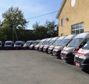 Закарпаття отримало нові автомобілі екстреної медичної допомоги (фото)