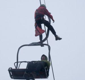 На Рахівщині рятувальники готувалися до зимового туристичного сезону (фото)