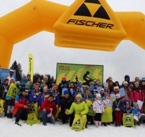 На Закарпатті відбувся перший етап змагань із гірськолижного спорту