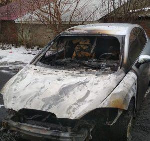 В Ужгороді згорів автомобіль. Черговий підпал