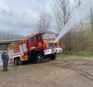 Новий пожежний автомобіль заступає на бойове чергування на Хустщині