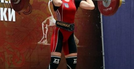 Ужгородка Лілія Гонимар стала срібною призеркою чемпіонату України з важкої атлетики