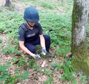 Закарпатські піротехніки знищили 158 боєприпасів, виявлені на Мукачівщині