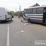 У Виноградові велосипедистка потрапила під колеса рейсового автобуса